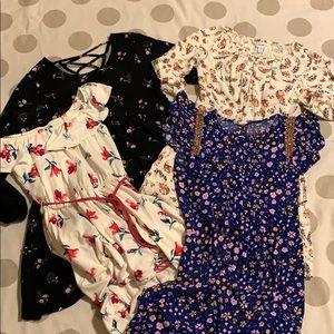 Girls Floral Dress Bundle cat & Jack • old navy